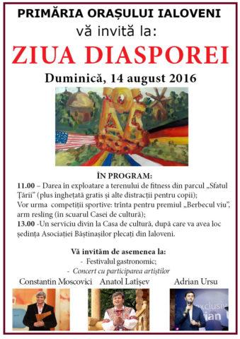 afis ziua diasporei final